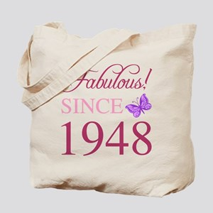 1948 Fabulous Birthday Tote Bag