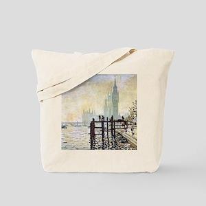 Claude Monet Westminster Bridge Tote Bag