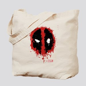 Deadpool Splatter Mask Tote Bag