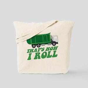 Garbage Truck Tote Bag