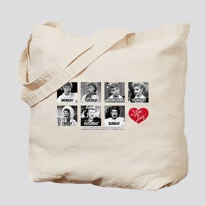 Lucy Days of the Week Tote Bag