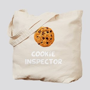 Cookie Inspector White SOT Tote Bag