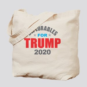 Deplorables for Trump 2020 Tote Bag