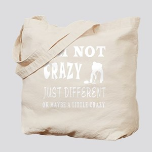Crazy Curling Designs Tote Bag
