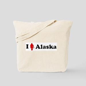 Alaska Firefigher Tote Bag