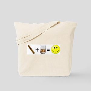 Cigar & Bourbon Tote Bag