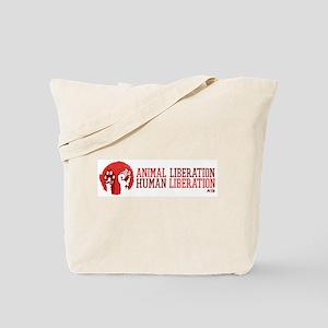 Animal/Human Liberation Tote Bag