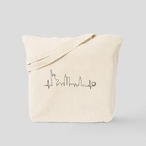 New York Heartbeat (Heart) Tote Bag