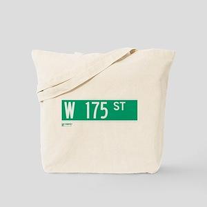 175th Street in NY Tote Bag