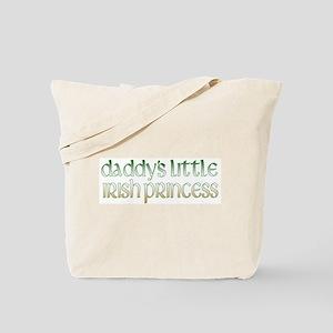 Daddy's Irish Princess Tote Bag