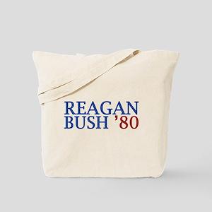 Reagan Bush '80 Tote Bag