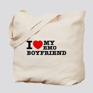 I love my EMO Boyfriend Tote Bag