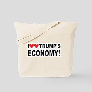I Love Trump's Economy Tote Bag