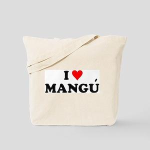 I Love Mangu Tote Bag