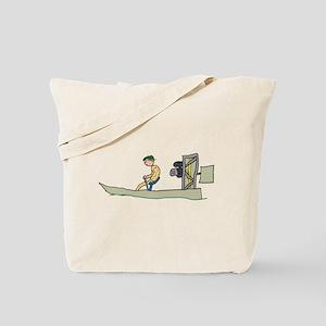 Swamp Boat Tote Bag