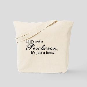 Percheron horse Tote Bag