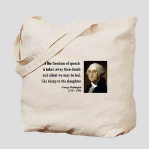 George Washington 3 Tote Bag