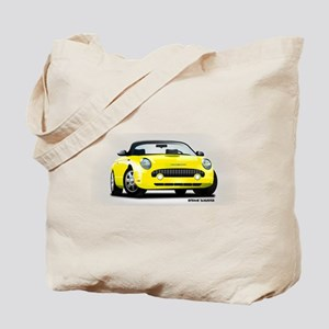 2002 05 Ford Thunderbird yellow Tote Bag