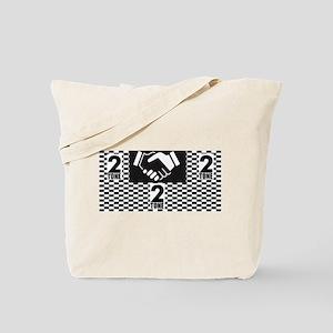 2 Tone Love Tote Bag