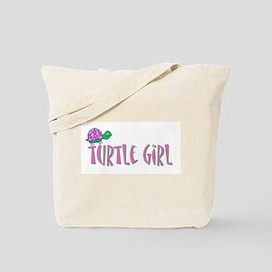 turtlegirl Tote Bag
