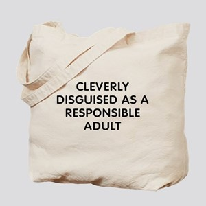 Cleverly Adult Tote Bag