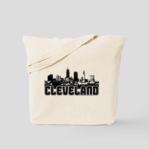 Cleveland Skyline Tote Bag