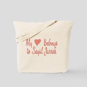 Heart Belongs Sayid Jarrah Tote Bag