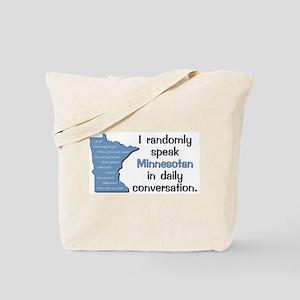 Random Minnesotan III Tote Bag