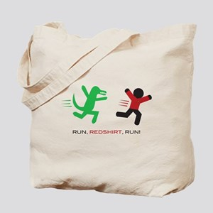 Run, Redshirt, Run! Tote Bag
