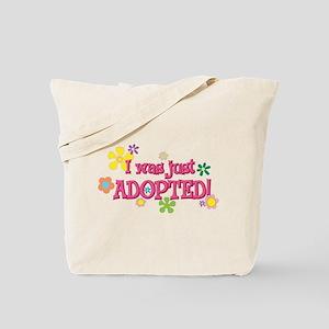 JUSTADOPTED44 Tote Bag