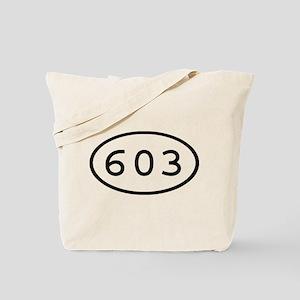603 Oval Tote Bag