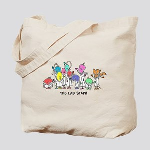 The Lab Staph Tote Bag
