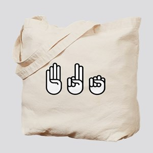 420 fingers Tote Bag