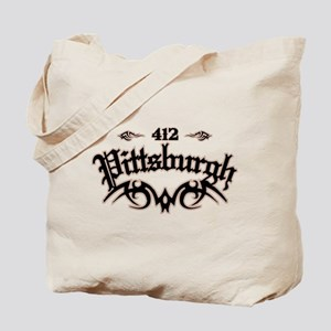 Pittsburgh 412 Tote Bag