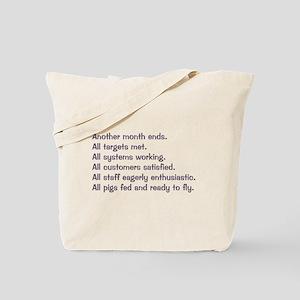 All Targets Met Tote Bag