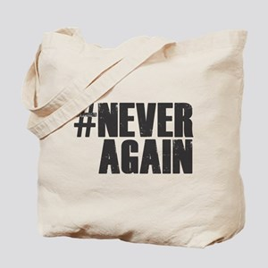 #NEVER AGAIN Tote Bag