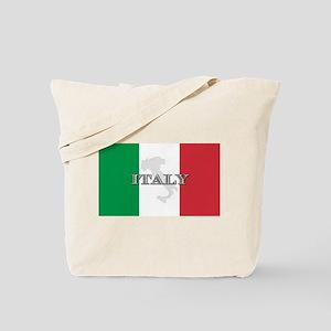 Italian Flag Extra Tote Bag