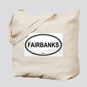 Fairbanks (Alaska) Tote Bag