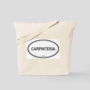 Carpinteria oval Tote Bag