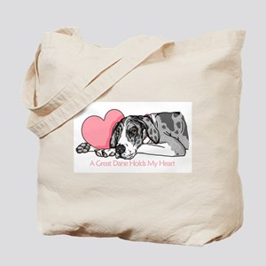 MerleB UC Holds Heart Tote Bag