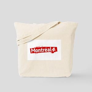 'Montreal' Tote Bag