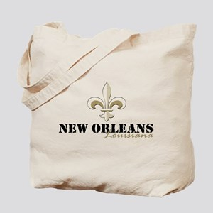 New Orleans Louisiana gold Tote Bag