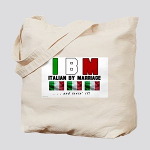Italian By Marriage - and lov Tote Bag
