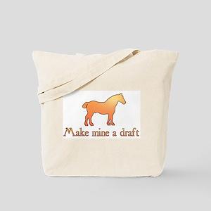 draft horse Tote Bag