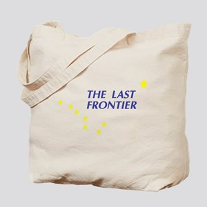 Alaska The Last Frontier Stat Tote Bag