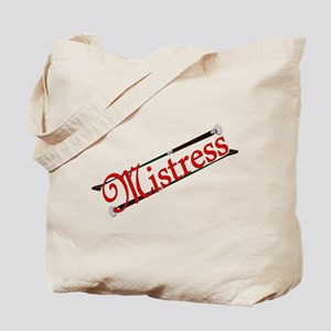 """Mistress"" Title with Riding Crops Tote"