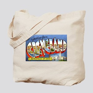 Cleveland Ohio Greetings Tote Bag