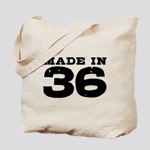 Made In 36 Tote Bag