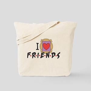 I heart Friends TV Show Tote Bag