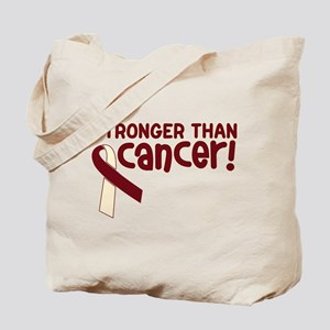 STRONGER THAN CANCER (Head & Neck) Tote Bag